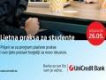 Plaćena studentska praksa u UniCredit banci